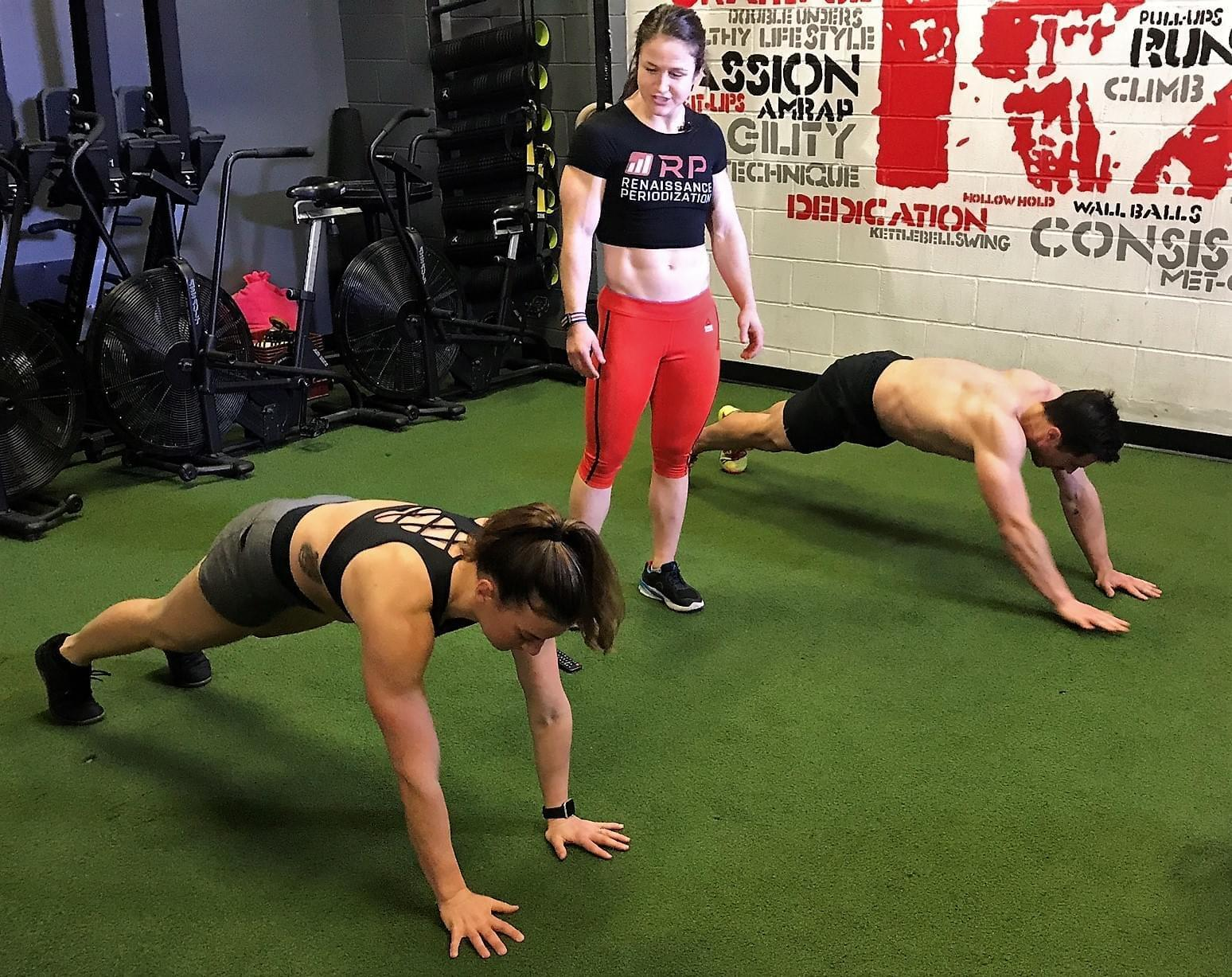 Plank Walkouts with Kari Pearce in the PowerAbs Workout